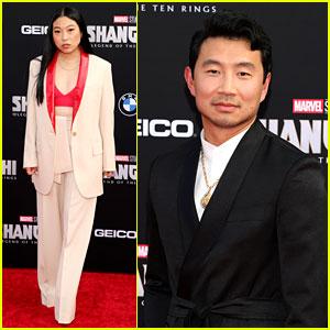 Simu Liu, Awkwafina, & More 'Shang-Chi' Stars Walk Red Carpet at L.A. Premiere (Photos)