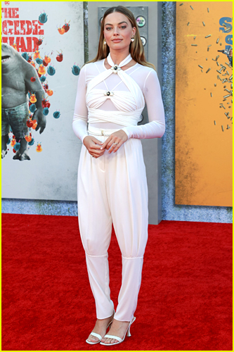 Margot Robbie at The Suicide Squad premiere