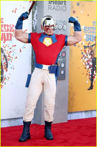 John Cena at The Suicide Squad premiere