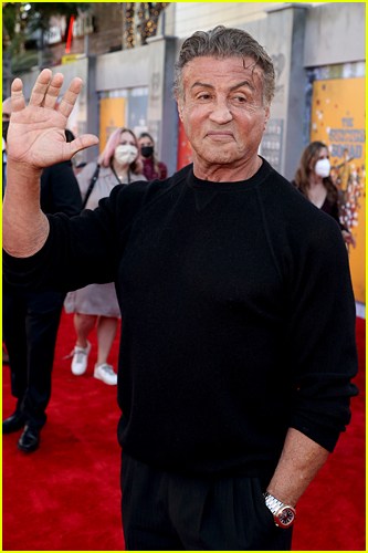 Sylvester Stallone at The Suicide Squad premiere