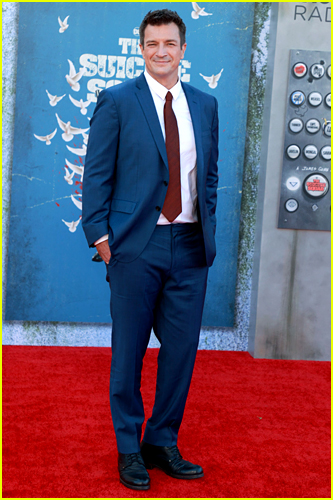 Nathan Fillion at The Suicide Squad premiere