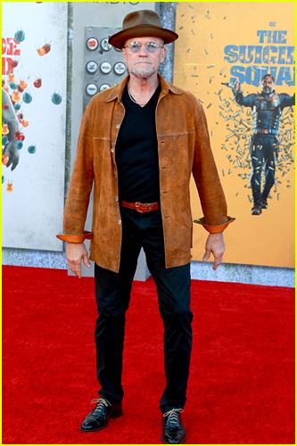 Michael Rooker at The Suicide Squad premiere