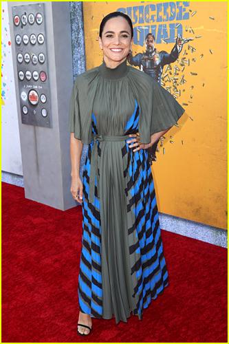 Alice Braga at The Suicide Squad premiere