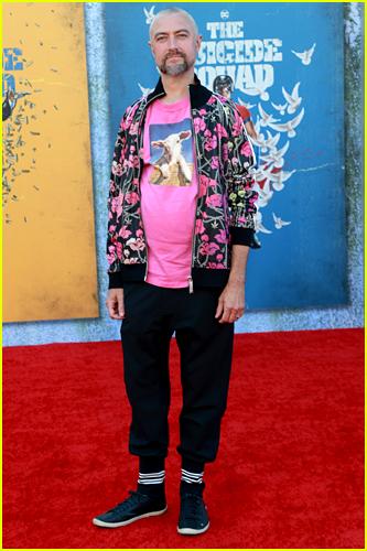 Sean Gunn at The Suicide Squad premiere