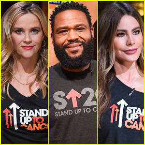 Reese Witherspoon, Anthony Anderson, & Sofia Vergara Show Their Support at Stand Up to Cancer 2021