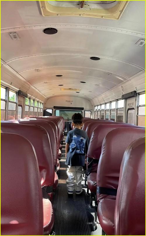 Stormi yellow bus