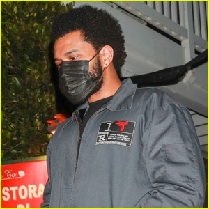 The Weeknd Grabs Dinner After Releasing His New Hit 'Take My Breath'