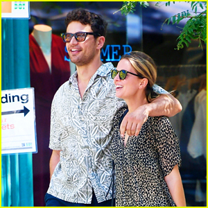 Theo James & Wife Ruth Kearney Are So Cute Together in These New Photos!