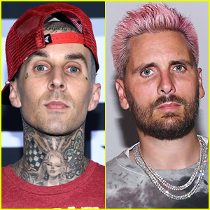 Travis Barker Seemingly Reacts to Scott Disick's Alleged Leaked DM to Younes Bendjima