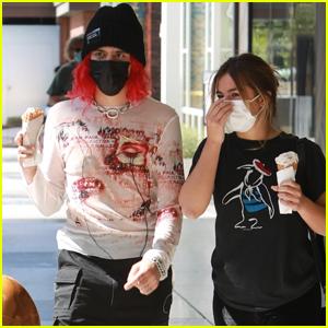 Addison Rae & Boyfriend Omer Fedi Head Out on Ice Cream Date in L.A.