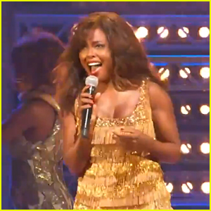 Adrienne Warren Shows Us Why She Won a Tony with 'Tina' Performance at Broadway's Back Concert!
