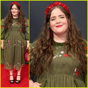 Aidy Bryant Looks Lovely on the Red Carpet for the Emmys 2021