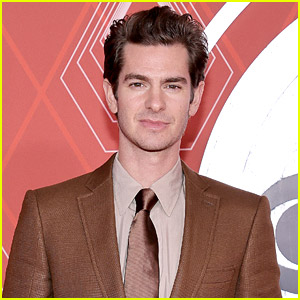 Andrew Garfield Looks Sharp in Burberry for the Tony Awards 2020