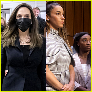 Angelina Jolie Praises the U.S. Gymnasts Who Testified at Senate Hearing