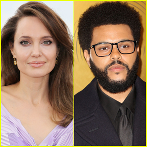 Angelina Jolie & The Weeknd Meet Up for Another Dinner Date in Santa Monica