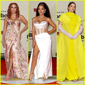 Annita, Natti Natasha & Rosalia Stun on Red Carpet For Billboard Latin Music Awards 2021