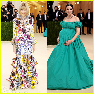 Anna Wintour's Daughter Bee Shaffer Shows Off Baby Bump at Met Gala 2021