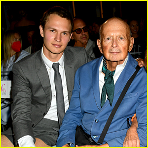 Ansel Elgort Makes First Public Appearance in Over a Year While Supporting His Dad!