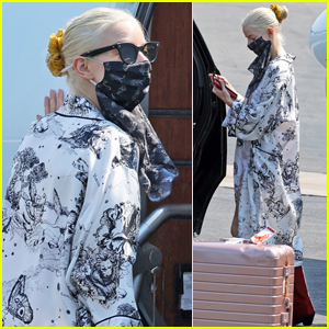Anya Taylor-Joy Jets Out of L.A. After Attending Emmys 2021