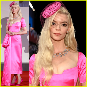 Anya Taylor-Joy's Pink Dress at 'Last Night in Soho' Venice Premiere is One of Her Best Looks Yet!