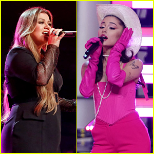 Ariana Grande & Kelly Clarkson Belt Out 'Respect' During Incredible Coach Performance on 'The Voice' Premiere (Video)