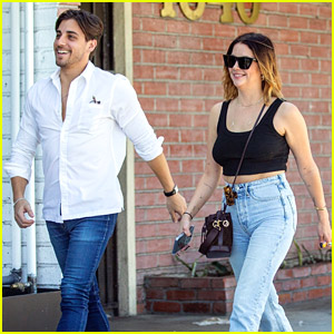 Ashley Benson Spotted Out To Lunch With Former Boyfriend Justin Thorne