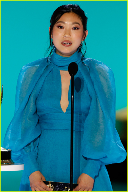 Awkwafina at the Emmy Awards 2021