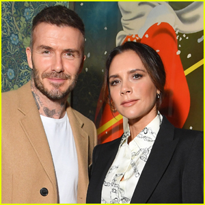 Victoria Beckham Shares a Very Cheeky Photo of Her Husband David Beckham in the Pool