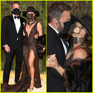 Ben Affleck Joins Jennifer Lopez at Met Gala 2021 as They Pack on PDA While Wearing Their Masks!