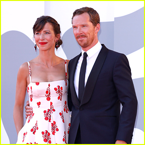 Benedict Cumberbatch Makes Rare Appearance with Wife Sophie Hunter at His Venice Movie Premiere!