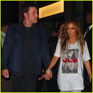 Jennifer Lopez & Ben Affleck Celebrate After Global Citizen Live NYC Performance