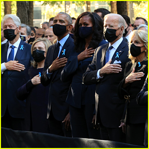 Bidens, Obamas, & Clintons Attend 9/11 Commemoration Ceremony on 20th Anniversary