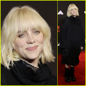 Billie Eilish Hits the Red Carpet at the MTV VMAs 2021