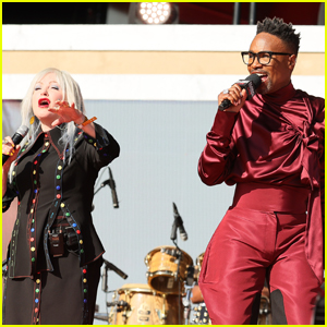 Billy Porter Performs with Cyndi Lauper at Global Citizen Live 2021