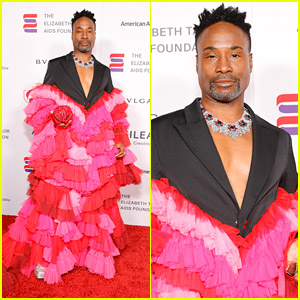 Billy Porter Resembles A Rose As He's Honored During The Elizabeth Taylor Ball to End AIDS 2021