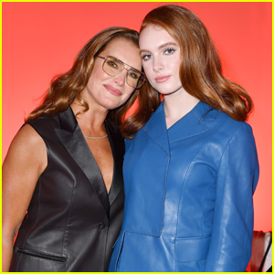 Brooke Shields Attends Ferragamo Fashion Show in Milan with Daughter Grier