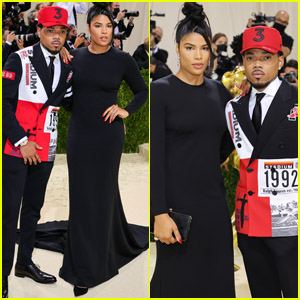 Chance the Rapper & Wife Kirsten Corley Enjoy a Parents' Night Out at the 2021 Met Gala