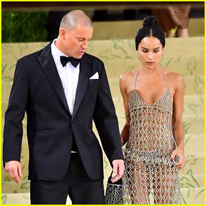 Channing Tatum & Zoe Kravitz Spotted Leaving Met Gala 2021 Together After Walking Carpet Separately
