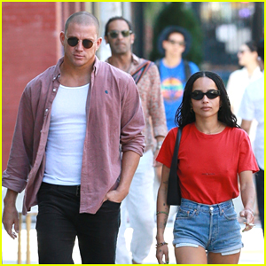 Channing Tatum & Zoe Kravitz Continue to Fuel Romance Rumors with Brooklyn Lunch Date