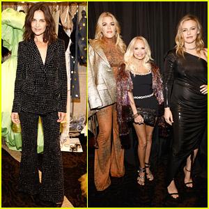 Katie Holmes, Alicia Silverstone, Kristin Chenoweth & More Step Out For Christian Siriano's Fashion Show