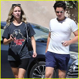 Cole Sprouse Picks Up Some Breakfast With Girlfriend Ari Fournier