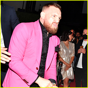 Conor McGregor Gets Into Fight with Machine Gun Kelly on MTV VMAs 2021 Red Carpet - See Photos