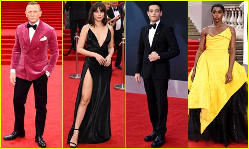Daniel Craig, Rami Malek, Ana de Armas, Lashana Lynch & 'No Time to Die' Cast Attend World Premiere!