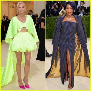 Diane Kruger & Regina King Go Glam for Met Gala 2021