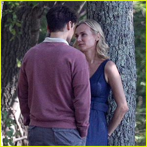 Diane Kruger Spotted Kissing Ray Nicholson on New Movie Set!