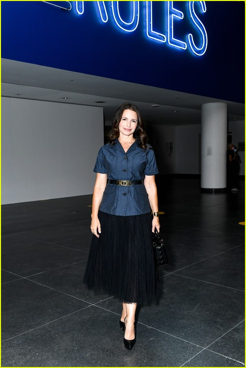 Kristin Davis at the Christian Dior Designer of Dreams event