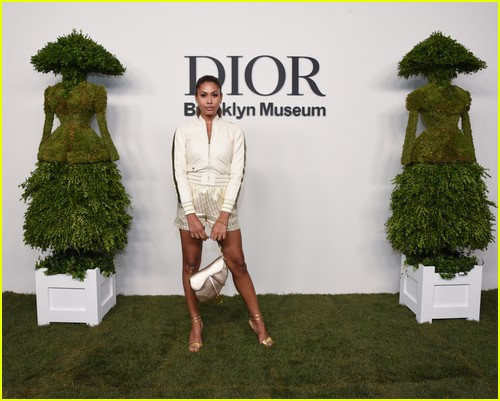 Leyna Bloom at the Christian Dior Designer of Dreams event