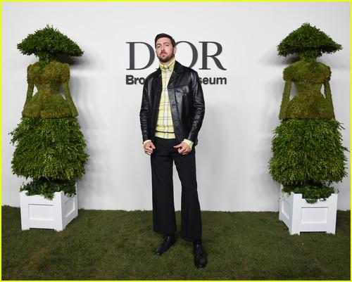 Nicholas Braun at the Christian Dior Designer of Dreams event