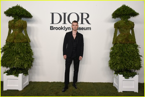 Thomas Doherty at the Christian Dior Designer of Dreams event
