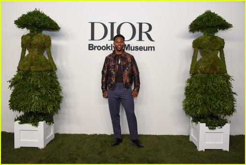 Victor Cruz at the Christian Dior Designer of Dreams event